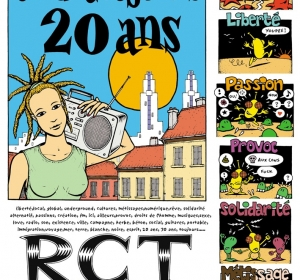 Affiche 20 ans Radio RCT