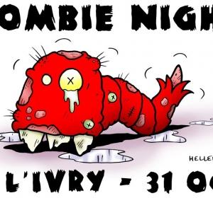 Affiche pour Halloween à l'Ivry