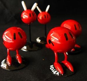 Figurines moulages résine (réalisées avec Riquet 1er)
