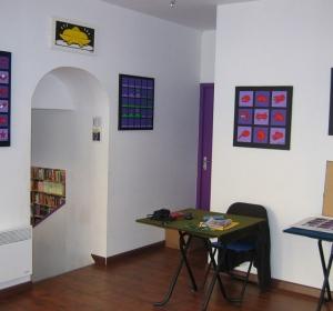 Expo librairie A titre d'Aile (Lyon 1) - 2008
