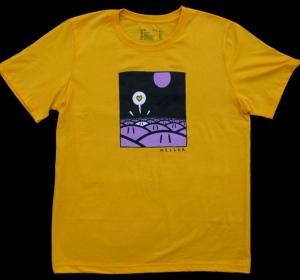 Tee-shirt Têtes jaune