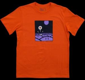 Tee-shirt Têtes orange