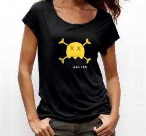 Tee-shirt Dead grugru - coupe femme